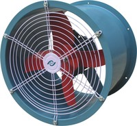 applied corrosive, flammable and explosive gas FBT35-11 Axial Flow Fan