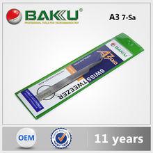 Baku Factory Price Various Design Diagonal Cutting Stainless Tweezers Scissor Tool For Mobile Phone