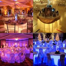 Lastest very popular cheap table wedding decoration