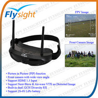 D448 Flysight SPX01 FPV Goggles (Picture-in-picture, Front Camera, HDMI) for Drone Racing Quad 250