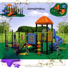 Kindergarten popular promotional pretty mini residential playground slides,residential playground slides
