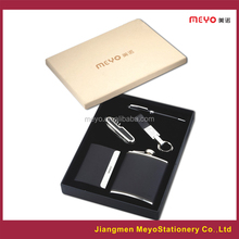 new products 2015 innovative product business gift set keychain ball pen business gift set