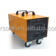 Eco-friendly Waterproof Long Lifespan complete home solar power system with LCD display and DC/AC output