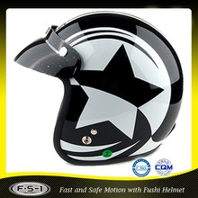 DOT FUSHI cheap price motorcycle helmet