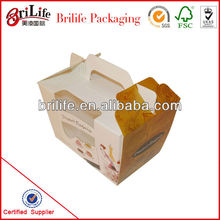 High Quality Cupcakes Packaging Box
