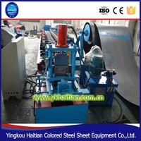 automatic hydraulic Metal profile steel door frame roll forming machine