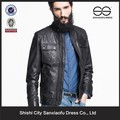 nova chegada de inverno mens preto barato moto yamaha jaqueta de couro