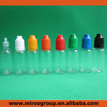 Wholesale empty 15ml e liquid bottles, 15 ml dropper bottles with childproof cap, 15ml essential oil bottles for e-liquid