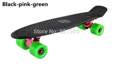 "Top Quality Classic 22"" Penny Board Penny Skateboard Complete Retro Style Cruiser Longboard Skate Fish Long Board"