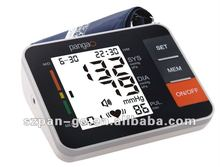 Arm Blood Pressure Monitor, Non-Invasive Measuring BPM, Safe and Comfortable
