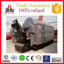 Hengan industry horizontal style and coal burning boiler