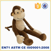 Stuffed plush animal monkey plush toy long arm plush monkey