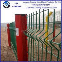 Security Triangle Fence/ Welded Bend Fence Panel / Yard Guard Wire Mesh Fence