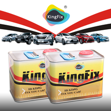 KINGFIX Brand silver paint for toyota car design