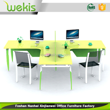 Hot Melamine And Metal Working Executive Office Table Design in malaysia