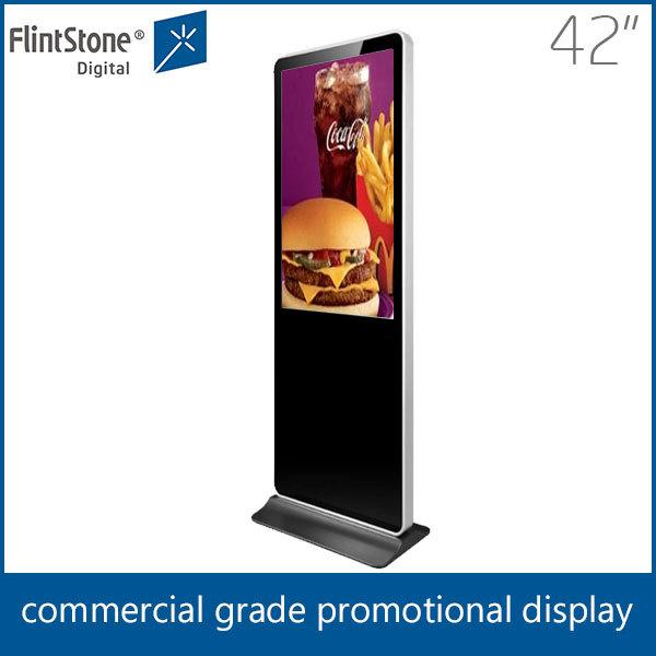 Flintstone 42 Inch Retail Kiosk For Sale Metal Frame Floor Display ...