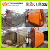 Industrial Double Drum Chain grate horizontal coal wood fired steam generator