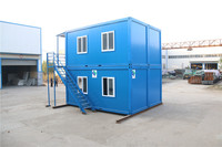 style high quality public portable waterproof prefab cabin container