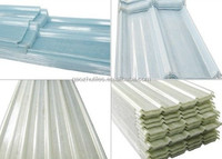 economic temperature resistance outstanding fiber corrugated sheet roof made in China
