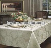 polyester metallic sequin table cloth