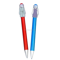 Safety Promotional Items Character Pens/ Clip Cartoon Pen YB-3005