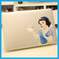Wholesale Computer Accessories Snow White for MacBook Laptop Decals Stickers Skins 11 12 6