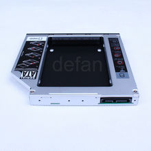 SATA to SATA 2nd HDD HD Hard drive caddy for 12.7mm universal CD/DVD-ROM Optical Bay