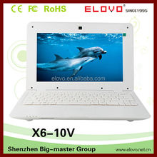 competitive price Android laptop computer 10 inch VIA WM 8850 laptop computer no better quality perfect time