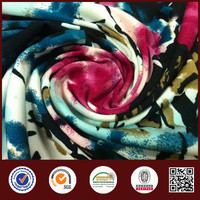 Feimei Knitting 90% Polyester 10% Spandex Print ITY Fabric