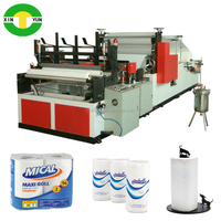 kitchen paper roll converting machinery rewinded towel kitchen roll machine low price