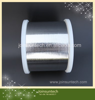 0.27x1.6mm low yield strength solar cell tabbing wire for machine automatic soldering