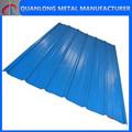 Cor de zinco revestido Solid aço telhados folhas