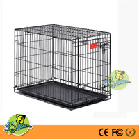 Midwest Life Stages Double-Door Folding Metal Dog Cage