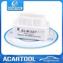 2015 Magic Price SUPER MINI ELM327 Bluetooth White OBD2 V2.1 Car Diagnostic Interface ELM 327 Wireless Scan Tool