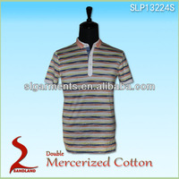 Mercerized Cotton Polo T Shirt for men