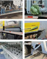 synchronous fiber asphalt chip spreader tanker truck