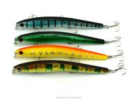 Hot 20pcs/lot Minnow lure fishing lure artificial bait 130mm 13.9G 4# treble hooks hard plastic fishing lures fishing tackle