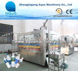 Complete Bottling Water Line Full Production