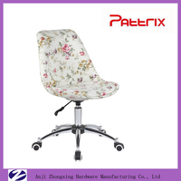 Beauty Office Chair Chrome Frame Dining Chair AH-3001R Pattrix