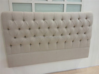 Low price single cardboard bed button tufted headboard for sale