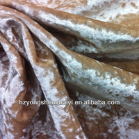short velvet with shiny surface for furniture/uphostery fabric