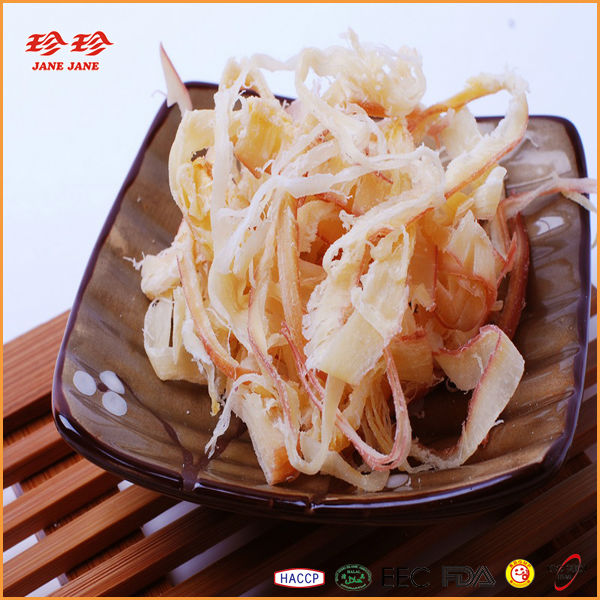 Prepared Shredded Squid Wing Seafood Snack