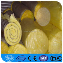 Aluminium Foil Yellow Sound Reduction, Wall And Ceiling Heat Insulation Glass Wool------Xing Runfeng