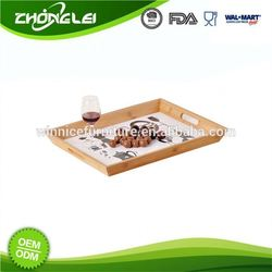 Custom Made FSC Certificated Low Cost Cardboard Trays For Food Hot Dog
