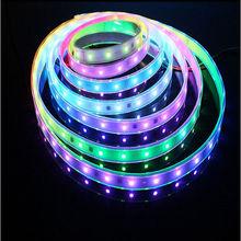 Good price for 1M 30 Pixels WS2812B WS2811 5050 RGB Digital LED Strip Light 5V White PCB