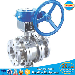 Iron Handle With Blue PVC Coated Brass Forged Ball Valve