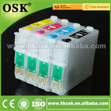 T21 T40W T13 Wholesale cartridge for Epson T0731HN T0732N T0733N T0734N Refillable ink cartridge with ARC chip