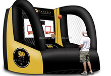 sport game supper fun inflatable giant basketball