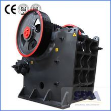 SBM PEW jaw crusher for making granules of coal with high capacity and low price