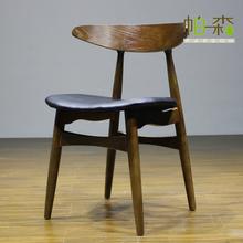 2015 Popular modern wooden dining chair/wood dining bar chair